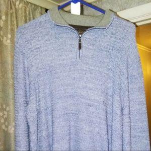 Tasso Elba Men's Half Zip Pullover Sweater